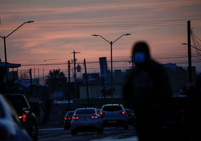 Vista de Ciudad Juárez, en la frontera con Estados Unidos, el pasado lunes.