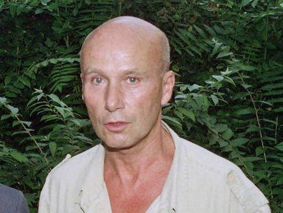 El escritor Gabriel Matzneff en una foto de archivo de 1990