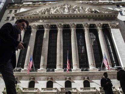 Edificio de la Bolsa de Wall Street.