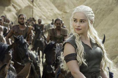 Emilia Clarke (Daenerys), en la sexta temporada de 'Juego de tronos'.