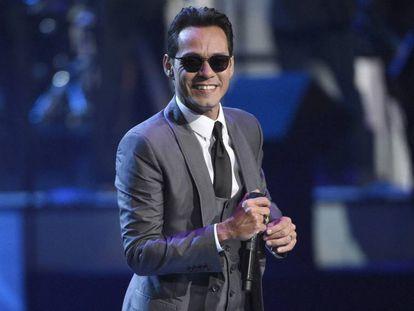 Marc Anthony en los Premios Grammy Latinos en 2016.