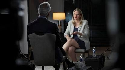 Frances Haugen, en su entrevista en '60 minutos '.