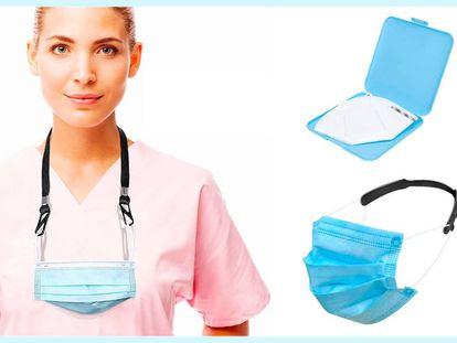 Estos accesorios para mascarillas mejoran la comodidad y la higiene