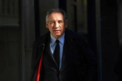 François Bayrou, este mayo.