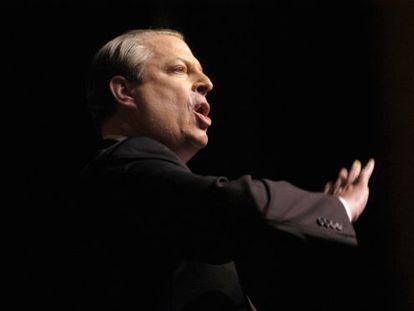 Al Gore, durante una conferencia en 2007.
