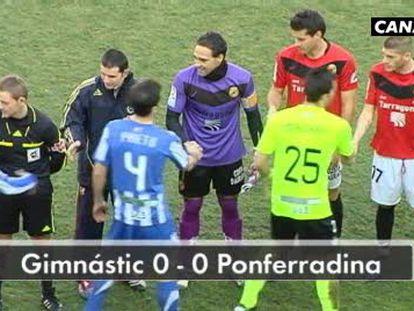 Gimnástic 0 - Ponferradina 0