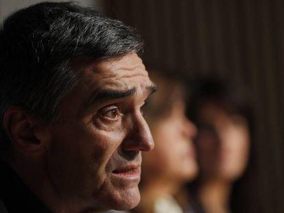 El secretario general de derechos humanos, del Gobierno Vasco, Jonan Fernández.