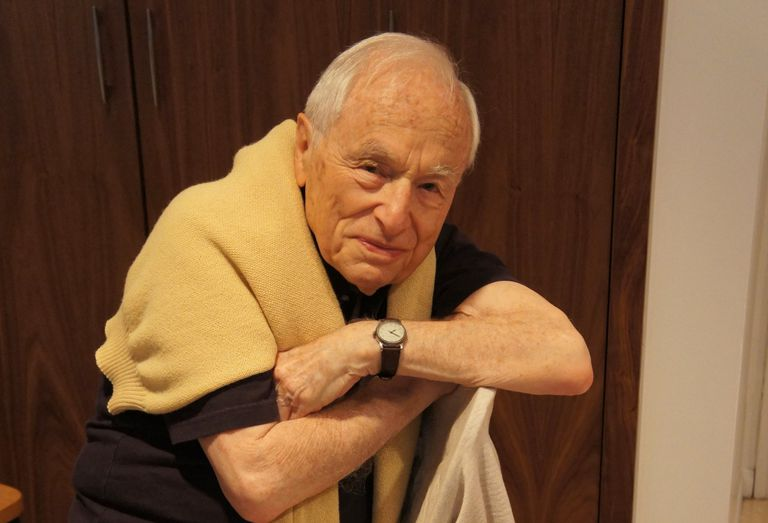 Walter Bernstein, en 2014.