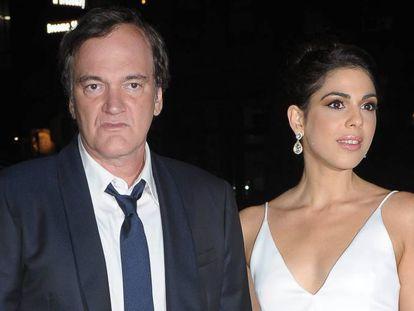 Quentin Tarantino y su novia, la cantante israelí Daniela Pick.