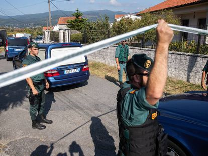 Agentes de la Guardia Civil, en una imagen de archivo.