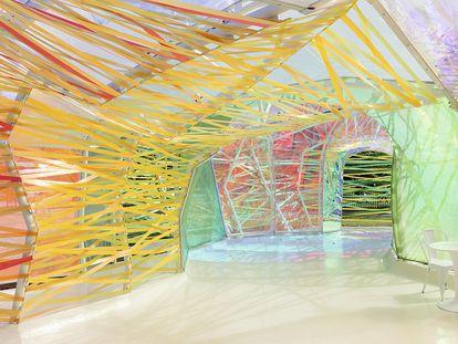 El Serpentine Pavilion (2015) de Selgascano.