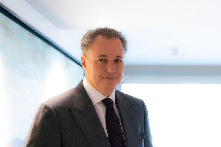 Juan Cortina Gallardo, nuevo presidente del Consejo Nacional Agropecuario, en un retrato en Ciudad de México.