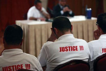 Víctimas de abusos sexuales por parte del clero que sucedieron durante años en un orfanato de Malta.