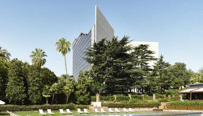 El Hotel Fairmont Rey Juan Carlos I, en una imagen de archivo.