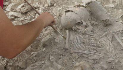 Excavaciones en Callosa del Segura.