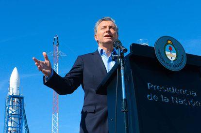 El presidente Macri inaugura, el miércoles, una plataforma de lanzamiento de prototipos espaciales.