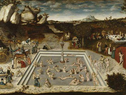 'La fuente de la eterna juventud', pintura de Lucas Cranach el Viejo