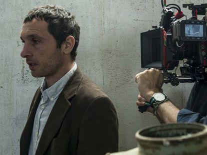 Pablo Derqui, en el rodaje de 'Pulsaciones'