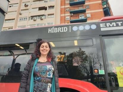 La nueva gerente de la EMT de València, Marta Serrano.