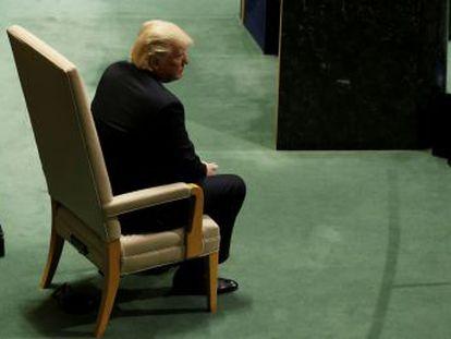 El presidente de EE UU lanza en Nueva York una embestida generalizada contra las instituciones internacionales