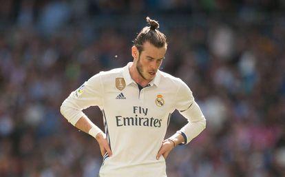 Gareth Bale, durante el partido contra el Alavés.
