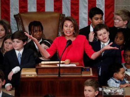 La veteranía sigue reinando en el partido que ha aportado frescura al Congreso con su nueva mayoría y que aspira a movilizar al electorado joven para derrocar a Trump en 2020