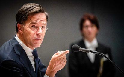 El actual primer ministro holandés, Mark Rutte, el jueves pasado en La Haya.