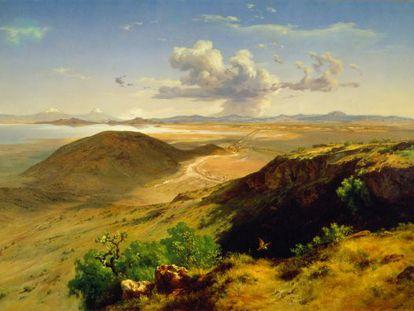 'Valle de México', 1877, de José María Velasco.