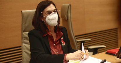 La presidenta de la CNMC (Comisión Nacional de los Mercados y la Competencia), Cani Fernández.