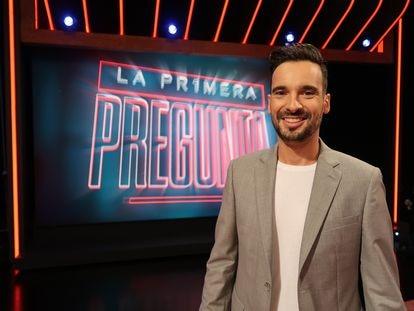 Lluís Guilera, presentador de 'La pr1mera pregunta'.