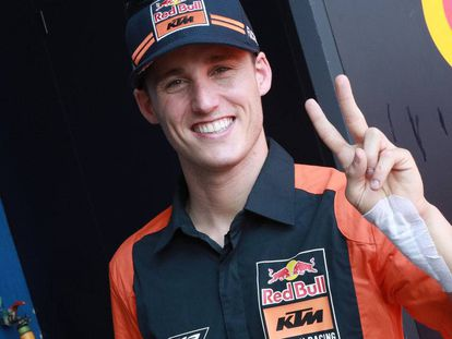 Pol Espargaró, piloto oficial de KTM, correrá con Honda el año próximo.