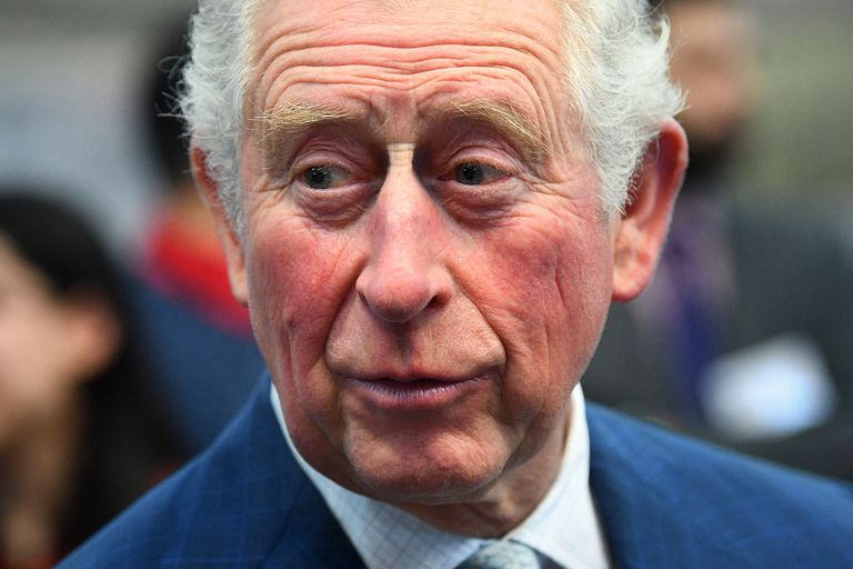 El príncipe Carlos, en un museo de Londres, el 4 de marzo.