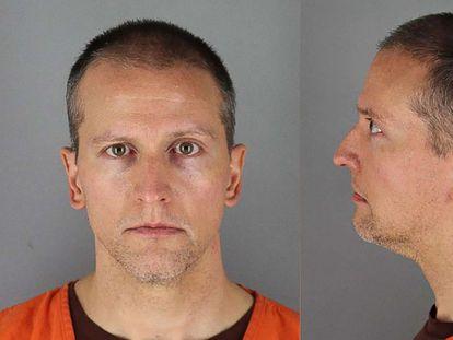 Derek Chauvin, en la cárcel.