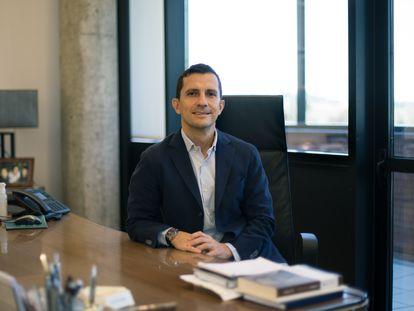 Javier López Belmonte, vicepresidente de la farmacéutica Rovi.