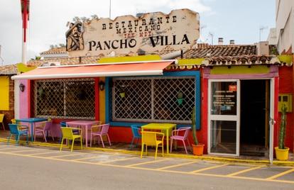 Pancho Villa, un restaurante mexicano que don Diego y su familia fundaron hace más de 20 años en el Saladillo, Málaga.