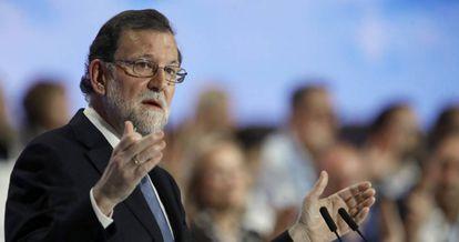 El presidente del Gobierno y del PP, Mariano Rajoy.