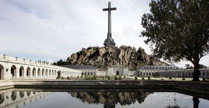 Panorámica de la basílica del Valle de los Caídos, en Cuelgamuros.