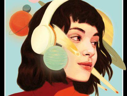 Ilustración de portada del artista David de las Heras.