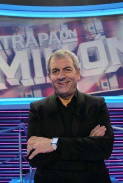 Carlos Sobera, presentador del concurso <i>Atrapa un millón</i> de Antena 3.