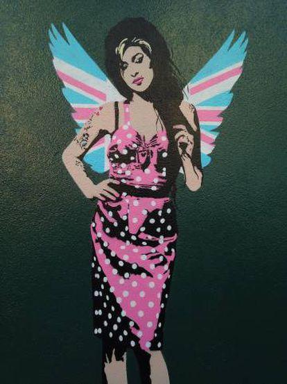 Una de las creaciones del artista Pegasus de su serie 'Love Is A Losing Game'.