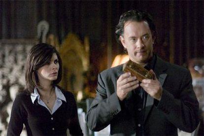 Fotograma de la película 'El Código da Vinci' protagonizada por Tom Hanks y Audrey Tautou