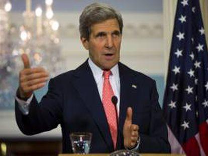 En la imagen, el secretario de Estado estadounidense, John Kerry. EFE/Archivo