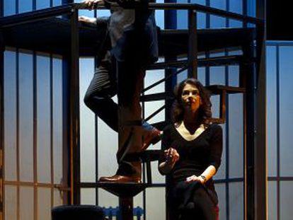 Tristán Ulloa e Isabelle Stoffel, en Invernadero.