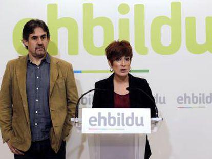 El gesto del grupo  abertzale  facilitará la investidura de María Chivite este viernes