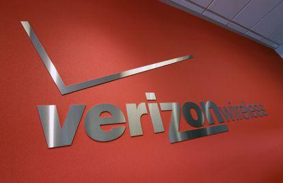 Un logo de Verizon, en una imagen de archivo.