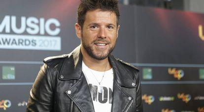 El cantante Pablo López.