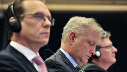 Olli Rehn, comisario europeo de Asuntos Económicos y Monetarios.