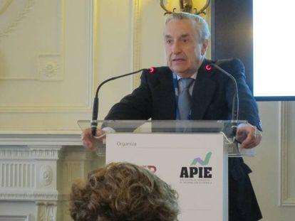 El presidente de la CNMC, José María Marín Quemada