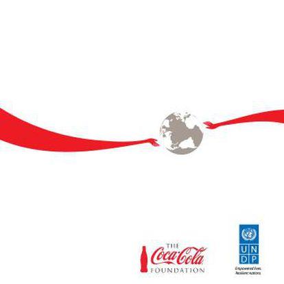 Imagen promocional de la alianza entre Coca Cola y el Programa de la ONU para el Desarrollo.