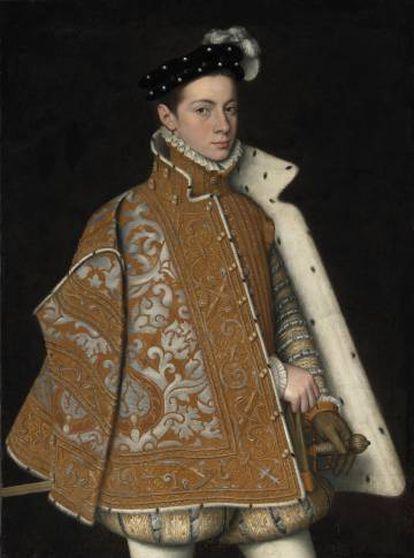 Retrato de Alejandro Farnesio, de la artista Sofonisba de Anguissola, que se encuentra en el Museo Nacional de Irlanda (Dublín).
